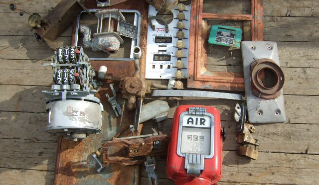 Gas pump and air meter parts