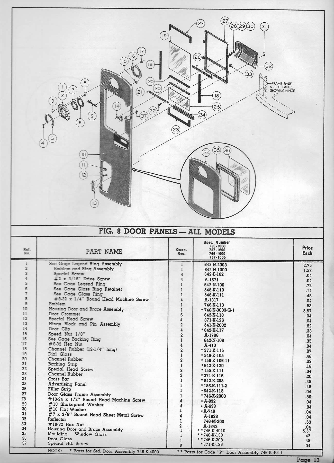 Bennett Pump Diagram Free Wiring For You 756 757 766 767 Gas Parts Gaspumps Us Old Rh 2066