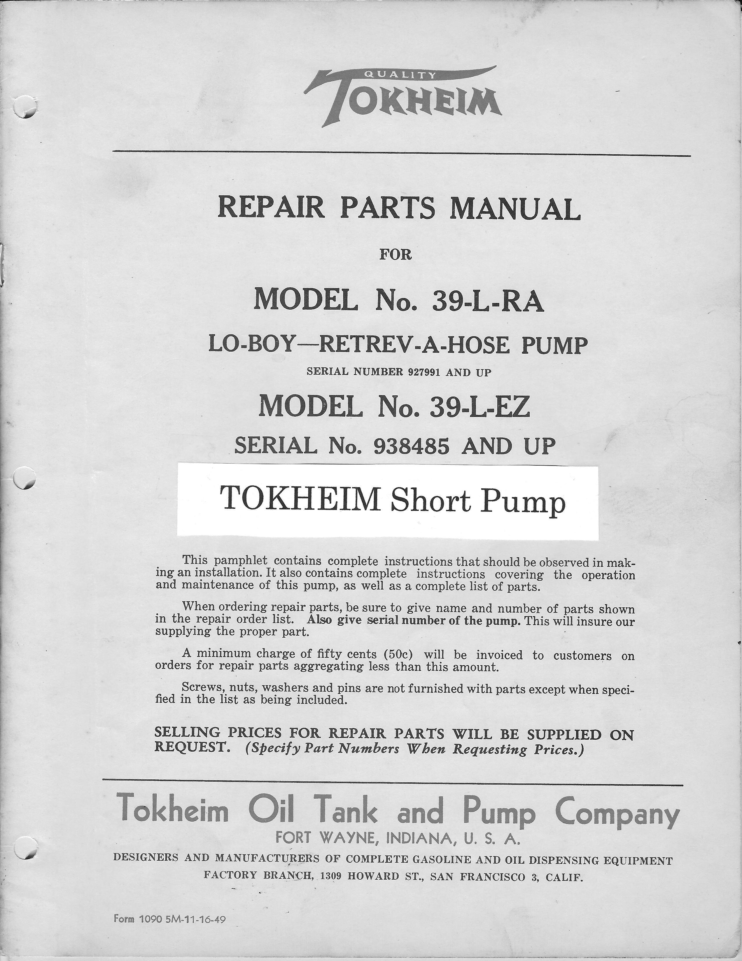 door | GasPumps.us Old Gas Pump Parts