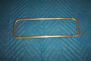 Bennett 956, 966, 1056, 1066 Ad Glass Stainless Trim Flat Style