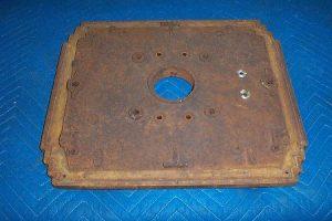 36b Cast iron top