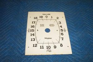 Wayne 60 866 Porcelain Clock Face Non Totalizer Side
