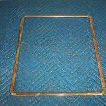 Bowser 595 Door Glass Trim 14x17