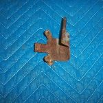 Bowser 595 Door Hinge With Long Pin Bolt On