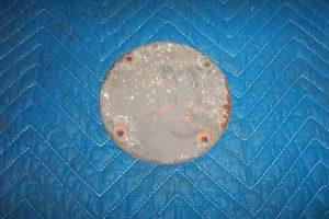 Bowser 595 Globe Hole Block Off Plate