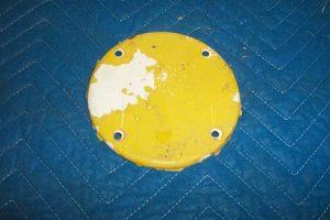 T 39 t Globe hole block off plate