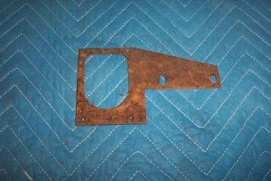36b Nozzle receiver mounting plate