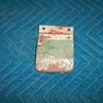 Be 541 nozzle receiver scuff plate
