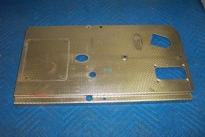 Gulf Nozzle Side Top Sheet Metal