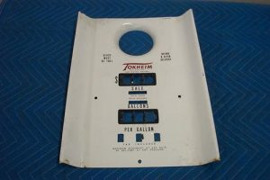 T 39 s Porcelain faceplate, funnel style with totalizer slots
