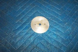 T 39 t Sight glass spinner backing plate