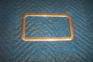 Bowser 575 Stainless Sight Glass Bezel