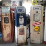 National, Wayne Vintage Gas Pumps