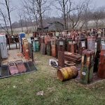 Unrestored Gas Pumps