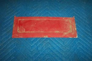 Neptune 855 Ad Glass Block Off Plate