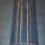 Wayne 615 Blue Tint Glass Cylinder