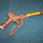 BN123 Brass Wheaton Nozzle