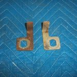 G&B 96 Door Lock Backing Plates