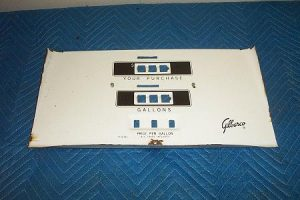 G&B 1002 Porcelain Face Plate With Totalizer Slots