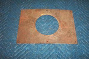 G&B 96 Top Sheet Metal Curved