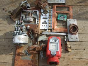 Gas pump and air meter parts